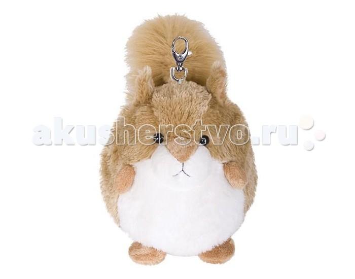 Мягкие игрушки Gulliver Брелок Пушистый хвостик - белочка 7 см