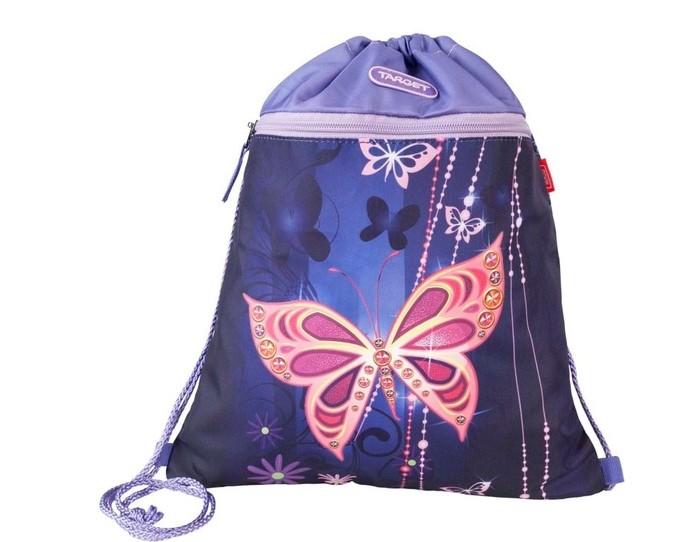 Школьные рюкзаки Target Collection Сумка для детской сменной обуви Золотая бабочка