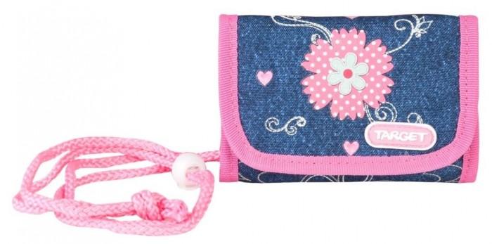 Пеналы Target Collection Детский кошелек Джинсовые цветы