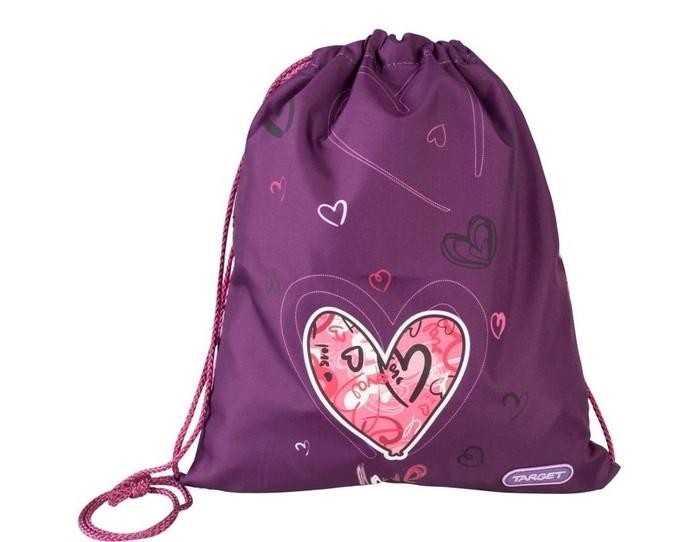 Школьные рюкзаки Target Collection Сумка для детской сменной обуви Сердце