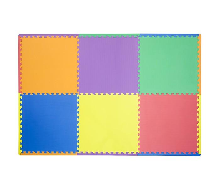 Игровые коврики FunKids пазл Симпл-24 игровые коврики funkids бордюр обычный 12 для ковриков пазлов 4 шт