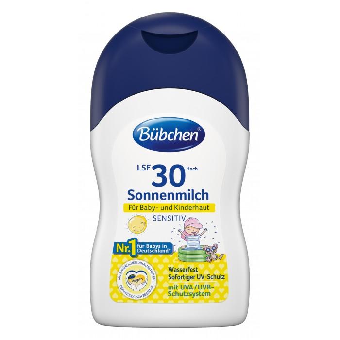 Bubchen Солнцезащитное молочко для чувствительной кожи 30+ 150 мл