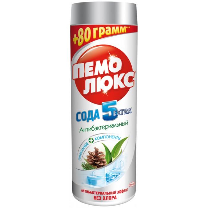 Бытовая химия Пемолюкс Чистящий порошок Сода 5 Extra Антибактериальный 480 г недорого