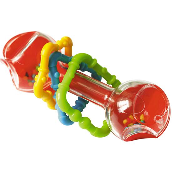 Погремушки Стеллар Гантелька прозрачная погремушки amico развивающая игрушка гантелька ферма