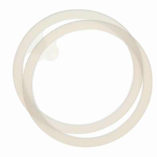 Аксессуары для бутылочек и поильников Combi Запасные уплотнительные кольца для поильников 2 шт.