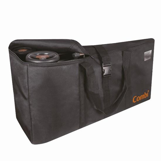 Combi Универсальная сумка для транспортировки коляскиАксессуары для колясок<br>Аксессуар, который сделает транспортировку коляски более удобной. Сумка незаменима для тех, кто много путешествует. Она надежно защитит коляску от пыли и возможных повреждений в багажном отделении, на транспортере в аэропорту или багажнике автомобиля.  Характеристики: мягкая ткань, прочная и простая в уходе аксессуар, который сделает транспортировку коляски более удобной удобная, встроенная ручка сумка незаменима для тех, кто много путешествует защитит коляску от пыли и возможных повреждений подходит для колясок Combi