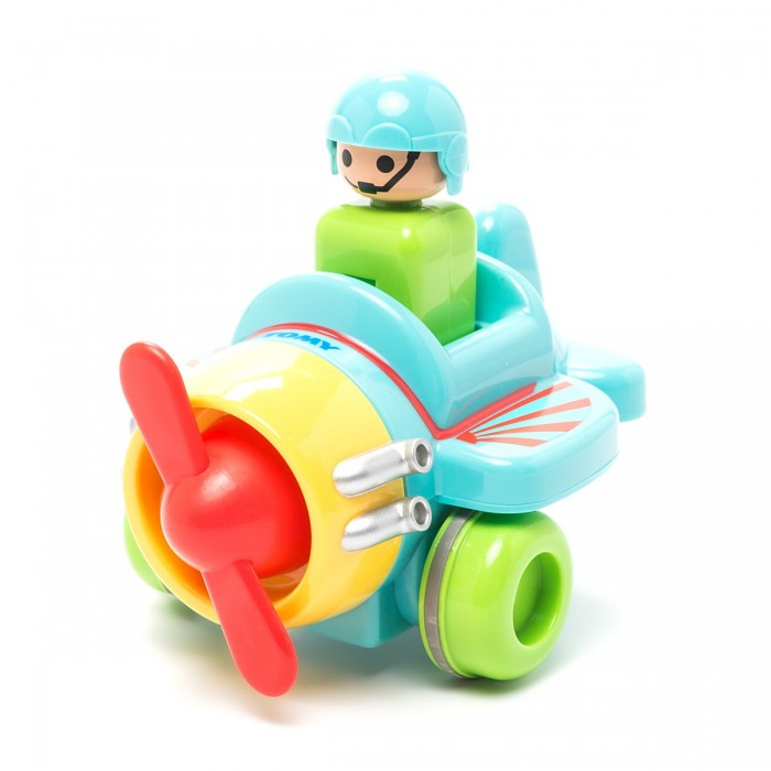 Машины Tomy Самолет Нажимай и гоняй черепашка нажимай и догоняй
