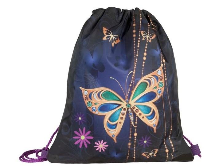 Фото - Школьные рюкзаки Target Collection Сумка для сменной обуви Золотая бабочка юнландия сумка для обуви meow 229170 бирюзовый
