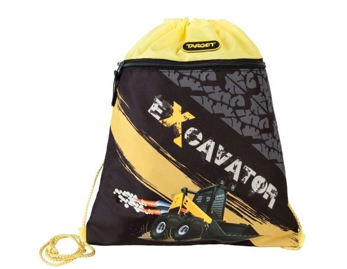 Школьные рюкзаки Target Collection Сумка для сменной обуви Экскаватор