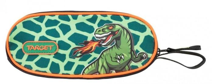 Пеналы Target Collection Пенал овальный Динозавр пеналы zipit пенал сумочка neon pouch