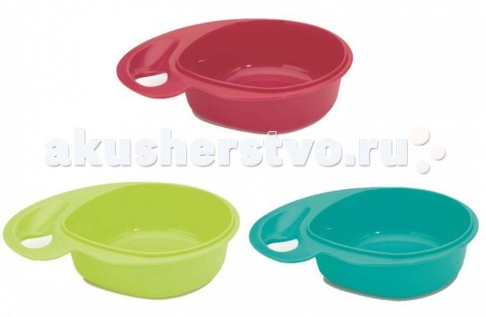 Аксессуары для кормления , Посуда Bebe Due Набор тарелочек с волшебным дном и эргономичной ручкой 3 шт. 300 мл арт: 327399 -  Посуда