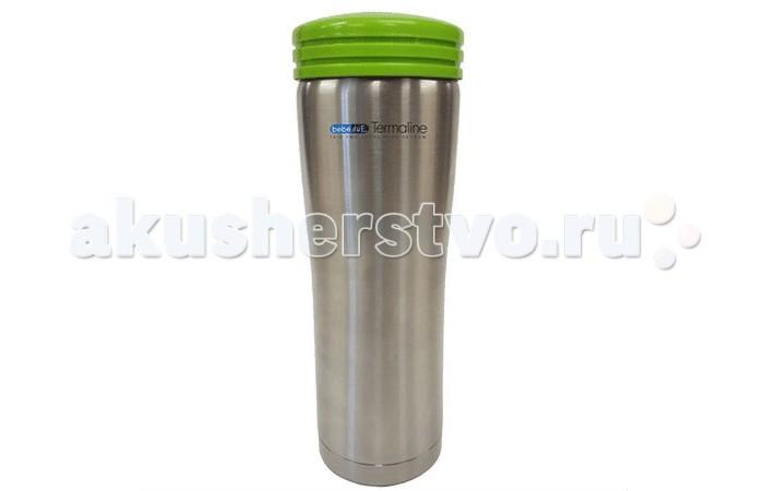 Термос Bebe Due с сумкой чехлом 500 млс сумкой чехлом 500 млТермос Bebe Due с сумкой чехлом 500 мл выполнен из высококачественной нержавеющей стали, не содержит вредных веществ. Поддерживает температуру напитка 8 часов, в зависимости от температуры заливки. Может сохранять как горячую, так и холодную температуру напитка.   Ударопрочный, герметичный, удобная форма. Незаменимый помощник на длительных прогулках, путешествиях, тренировках, при посещении роддомов и больниц. Можно мыть в посудомоечной машине.<br>