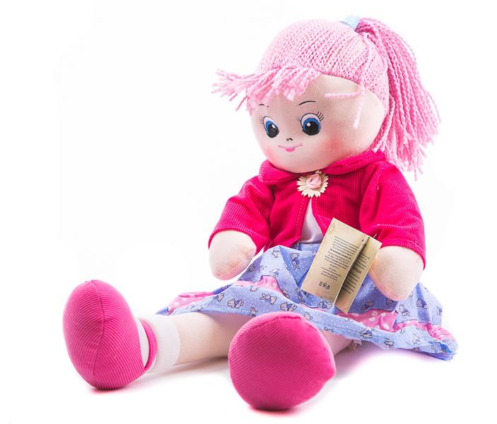 Куклы и одежда для кукол Gulliver Кукла Земляничка 30 см игрушка мягкая gulliver кукла хозяюшка 30см