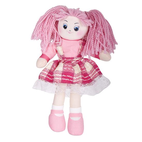 где купить Куклы и одежда для кукол Gulliver Клубничка в клетчатом платье 30см по лучшей цене