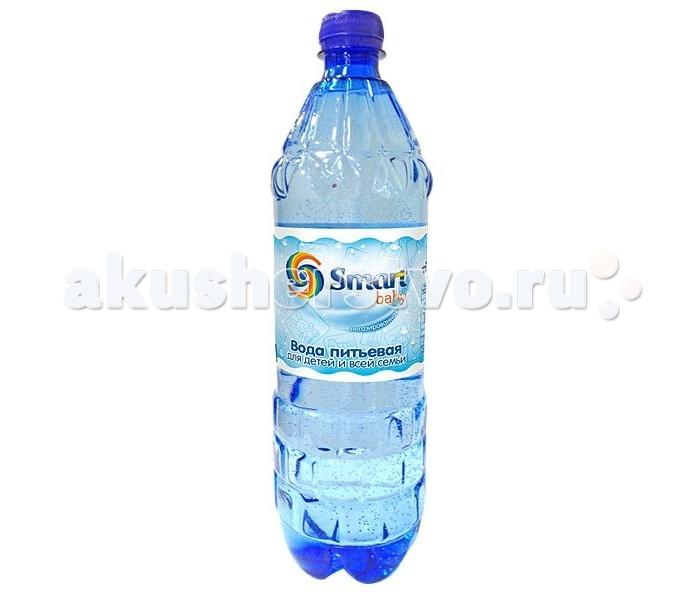 Вода Smart Baby Вода питьевая 1 л вода сенежская с газом 1 5 л