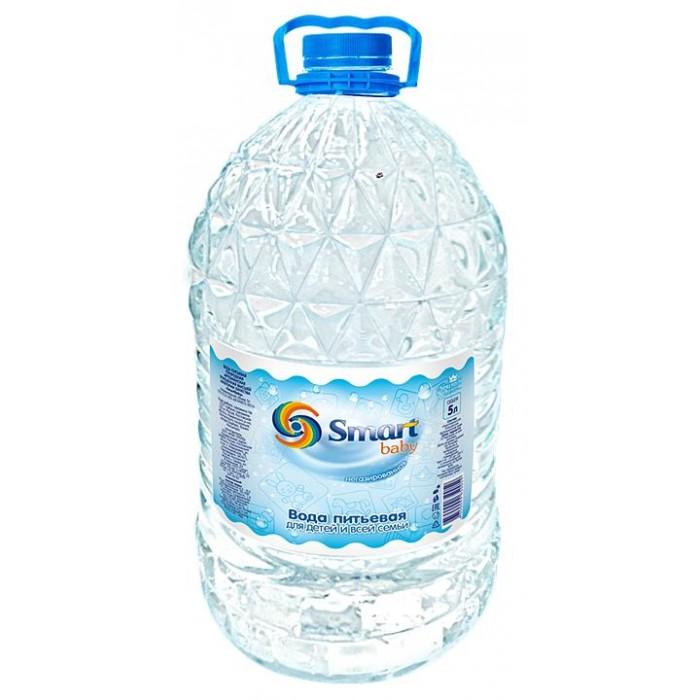 Вода Smart Baby Вода питьевая 5 л la molisana rigatoni трубки рифленые 500 г