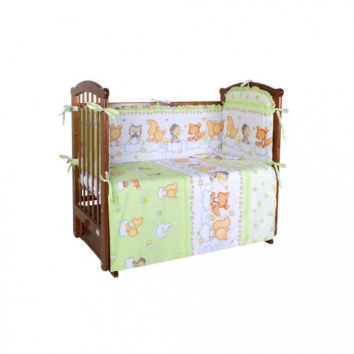 Комплект в кроватку Ангелочки 5430 (4 предметов)