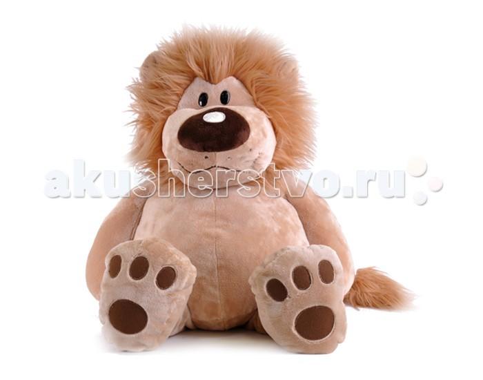 Мягкие игрушки Gulliver Лев Лёва сидячий 56 см игрушка мягкая gulliver мишутка пуффи 30см