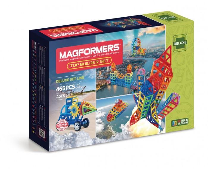Конструктор Magformers Магнитный Top Builder set (505 деталей)