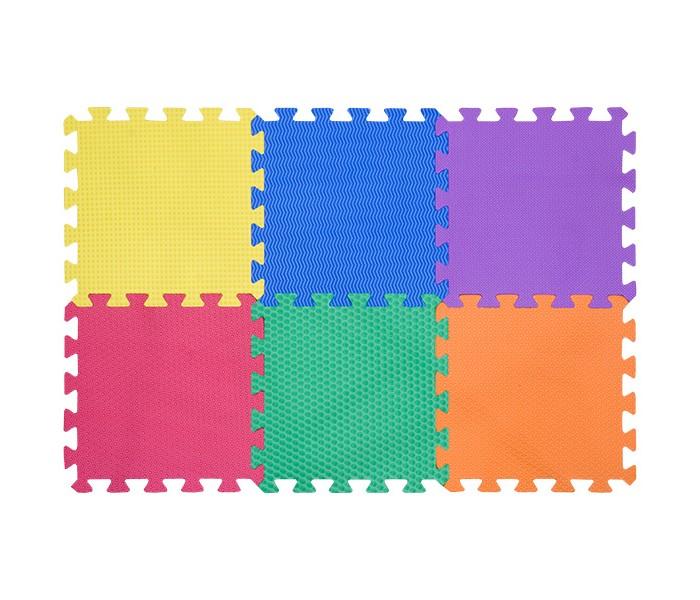 Игровые коврики FunKids пазл 12 без изображений рельефный игровые коврики funkids бордюр обычный 12 для ковриков пазлов 4 шт