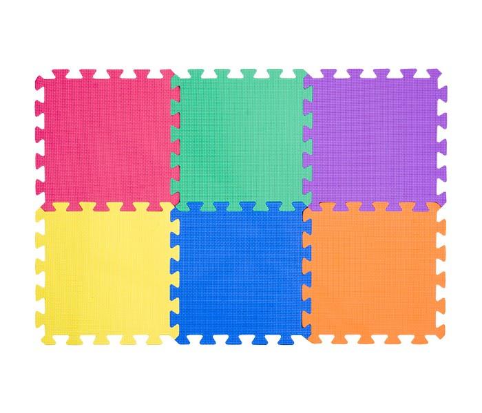Игровые коврики FunKids пазл 12 Симпл-12-10 игровые коврики funkids бордюр обычный 12 для ковриков пазлов 4 шт