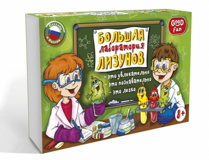 Творчество и хобби , Наборы для творчества Good Fun Набор для опытов Большая лаборатория лизунов арт: 329420 -  Наборы для творчества