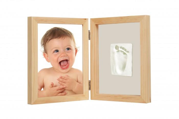 Детская мебель , Фотоальбомы и рамки Adora Рамка двойная для фотографии и отпечатка (дерево) арт: 329760 -  Фотоальбомы и рамки