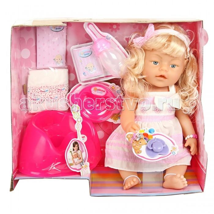 Куклы и одежда для кукол Veld CO Пупс с аксессуарами 50783 veld co пупс с ванночкой изабелла