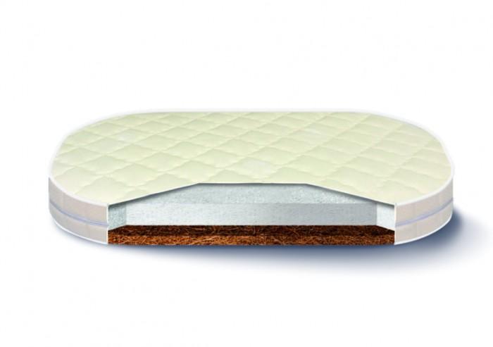 Матрас Nuovita  Fascino 125х75 смFascino 125х75 смМатрас Nuovita Fascino 125 х 75 см из высокоэластичной пены с микропористой структурой, способствующая физиологически правильной поддержке тела спящего человека.  Сocco (кокосовая койра, плита или волокно) - крепкий природный материал из волокон ореха кокосового дерева, который латексируют в процессе производства, с целью придать ему эластичности, упругости и долговечности. Кокосовый наполнитель для матраса делает их максимально жесткими.   Чехол матраса съемный выполнен в ткани Danubia, хлопковый трикотаж. Материал природного происхождения. Произведенный из тщательно отобранных смесей древесных пород, позволяет удалять плохой запах с поверхности матраса. Для этой ткани характерна стойкость к внешним воздействиям. Обладает хорошей воздухопроницаемостью. Является гипоаллергенной.   Размер: 125 х 75 см Высота матраса: 9 см.<br>