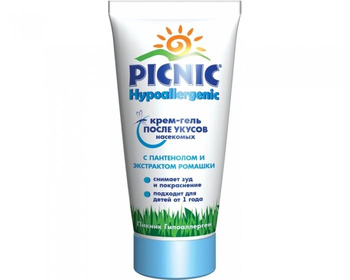 Средства от насекомых Picnic Hypoallergenic Крем-гель с пантенолом 30 мл picnic гель бальзам baby универсальный после укусов насекомых с 1 года