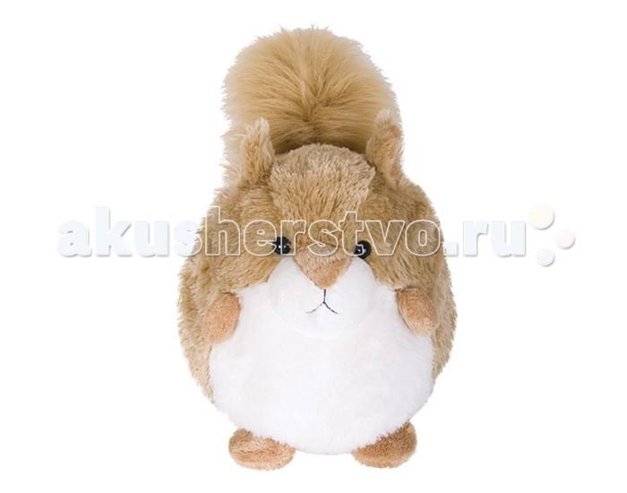 Мягкие игрушки Gulliver Пушистый хвостик Белочка 20 см игрушка мягкая gulliver мишутка пуффи 30см