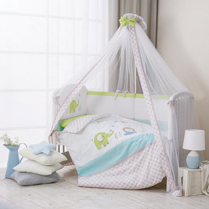 Комплекты в кроватку Perina Джунгли (7 предметов) матрасы candide дышащий со съемным чехлом 60х120x11 см