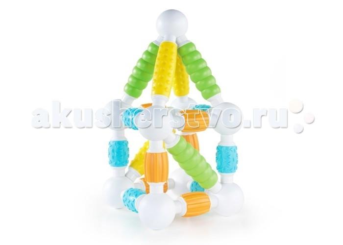 Конструкторы Guidecraft магнитный для малышей Better Builders Grippies 30 деталей