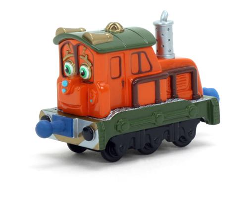 Chuggington Паровозик Калли с вагоном