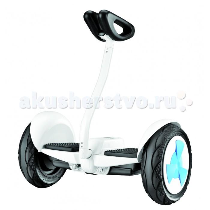 Gyro Сигвей-мини с управлением коленями 10Сигвей-мини с управлением коленями 10Gyro Сигвей-мини с управлением коленями 10 восхищает своим исполнением и функциональными возможностями. Уникальной особенностью данного сигвея является его управление с помощью коленей. Колени удобно размещаются на пластиковых чашках, закрепленных на вертикальной раме. Сигвей моментально реагирует на малейшее давление одного из коленей и плавно меняет направление.  Два мощных моторчика позволяют сигвею разгоняться до 15 км/ч, а на одном заряде аккумуляторов Gyro способен проехать до 20 километров. Стальная основа транспортного средства в сочетании в пластиковыми вставками способны выдержать вес до 100 кг, что говорит о серьезном подходе изготовителя к качеству продукта.  Широкие десятидюймовые пневматические колеса легко управляются и незаметно преодолевают небольшие препятствия. Необычный футуристический дизайн мини-сигвея привлечет множественные восхищенные взгляды окружающих.  Особенности: диаметр колес: 10 материал: пластик/сталь размер (см): 56х26х61 масса (кг): 13 мощность: 2х350Вт пневматические колеса максимальная скорость: 15 км/ч максимальная дальность: 20 км.<br>