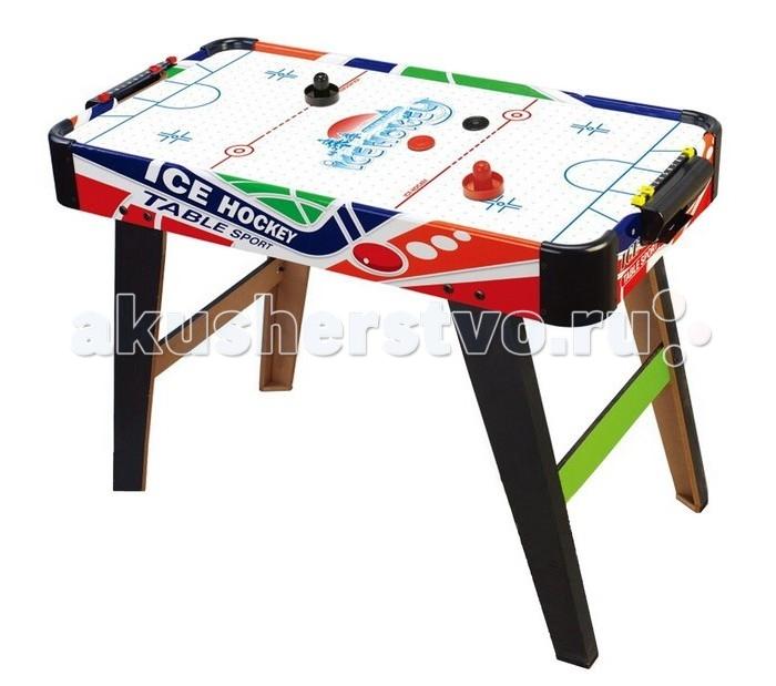 Veld CO Аэрохоккей 31335Аэрохоккей 31335Veld Co Настольная игра Аэрохоккей 31335 - увлекательная игра, ставшая за последнее время такой популярной!  Эта игра популярна особенно среди детей - очень веселая и увлекательная. Игрушка способствует развитию координации движений и быстрой реакции. В набор входят биты и шайбы для игры.  Аэрохоккей - универсальное решение для организации семейных выходных или вечернего досуга.<br>