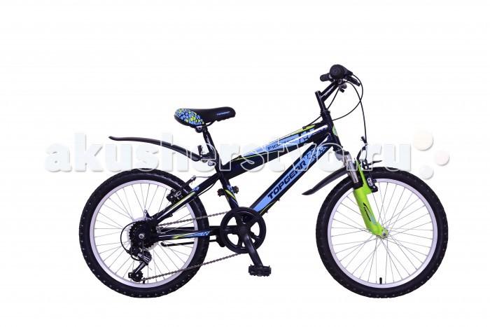 Детский транспорт , Двухколесные велосипеды TopGear Fighter 210 20 арт: 333240 -  Двухколесные велосипеды