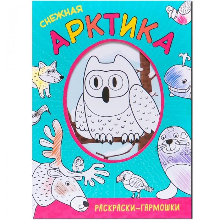 Раскраски Мозаика-Синтез гармошки Снежная Арктика раскраски мозаика синтез с наклейками на море