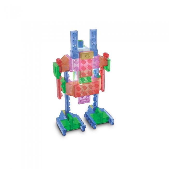 Конструкторы Laser Pegs Набор 4 в 1 Роботы в футляре