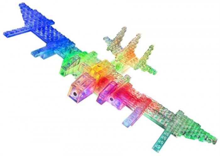 Конструкторы Laser Pegs Набор 6 в 1 Воздушный транспорт
