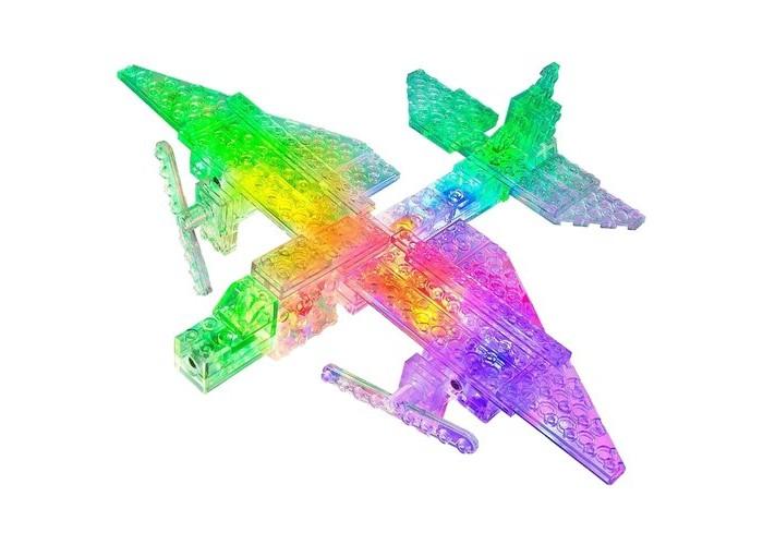 Конструктор Laser Pegs Набор 12 в 1 Грузовой самолет
