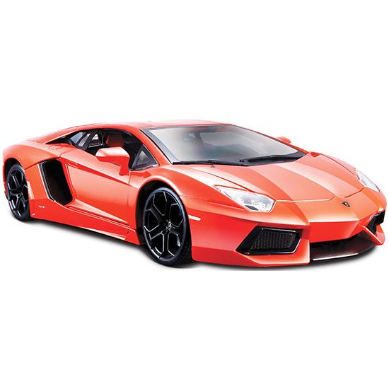 Машины Bburago Машина Lamborghini Aventador LP700-4 автомобиль bburago lamborghini sesto elemento 1 24 18 21061