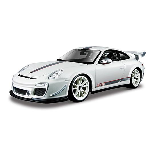 Bburago Машина Porsche GT3 RS 4.0Машина Porsche GT3 RS 4.0Машина Bburago Porsche GT3 RS 4.0 – это копия настоящего автомобиля с полной детализацией всех частей.  Игрушка выполнена из высококачественного металла и пластика. Детали и края аккуратно обработаны.   Коллекционные машинки Бураго развивают у ребенка развивают координацию движений и меткость, пространственное и образное мышление, воображение, мелкую моторику. С мини-модельками автомобилей Bburago игра станет настолько увлекательной, что оторваться будет невозможно!   Компания Bburago – мировой лидер в производстве коллекционных моделей автомобилей. Более 30 лет профессиональные дизайнеры Bburago разрабатывают точные копии современных машин и ретро машин известных марок. С автомобилями Bburago можно не только играть, но и сделать их частью своей коллекции!<br>