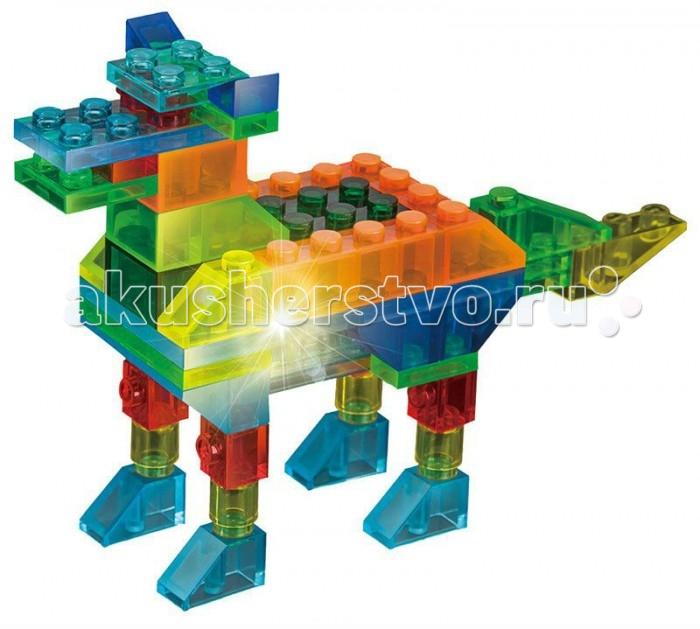 Конструкторы Shining Galaxy Животные 4 в 1 конструкторы clever мой маленький конструктор тетрадь домашние животные