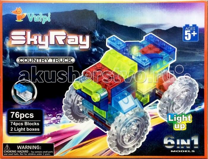 Конструкторы Sky Ray Машина Набор 6 в 1 конструкторы fanclastic конструктор fanclastic набор роботоводство