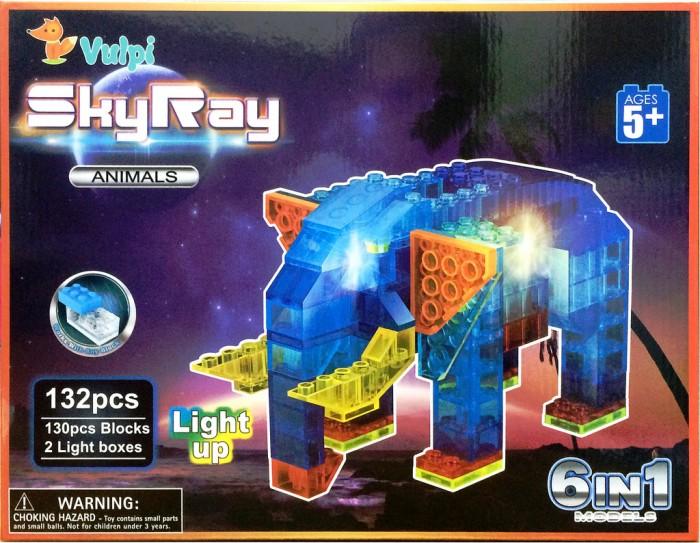 светящиеся конструкторы Конструкторы Sky Ray Животные Набор 6 в 1