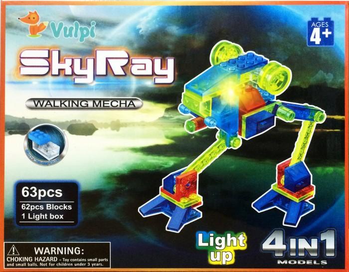 светящиеся конструкторы Конструкторы Sky Ray Луноход Набор 4 в 1