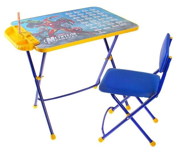Купить Детские столы и стулья, Ника Набор мебели Мстители (стол-парта+стул)