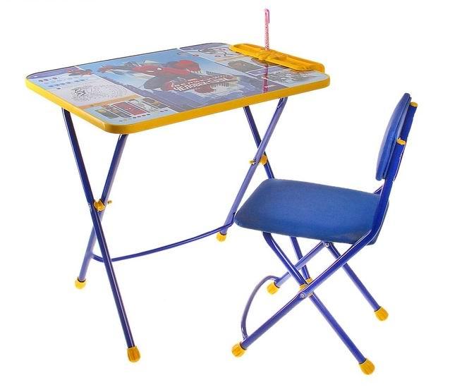 Купить Детские столы и стулья, Ника Набор мебели Человек-паук (стол-парта+стул)