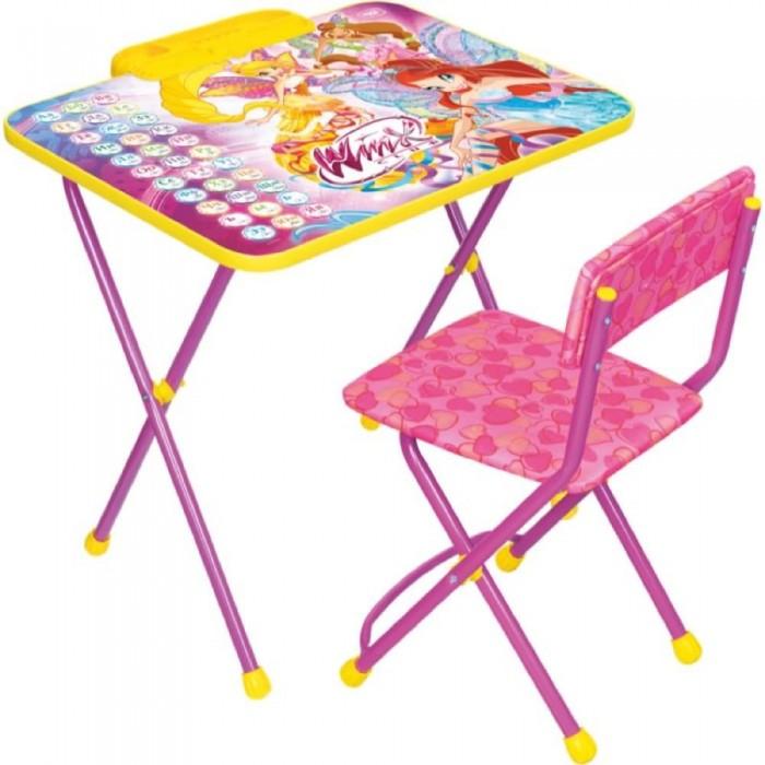 Детские столы и стулья Ника Набор мебели Winx 2 Азбука
